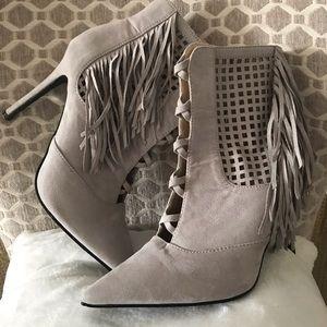 Cape Robbin Fringe Shoe Boots